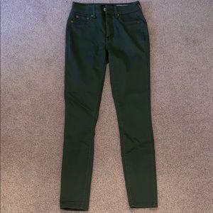 Aeropostale Olive Green Jeggings - Size 000